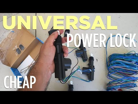 Power Locks on Base Model Truck for $25