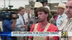 John William King to be executed tonight