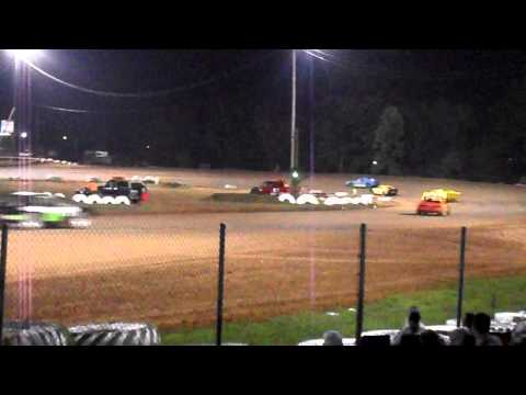 Mini Stock Feature Race at I-30 Speedway 5/18/13