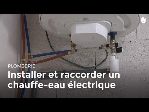Plomberie per raccorder des arriv es d 39 eau une nour doovi - Remplacer un chauffe eau electrique ...