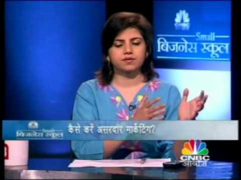 Ajay Gupta interview on CNBC-Awaaz on Hand Made Soap Industry