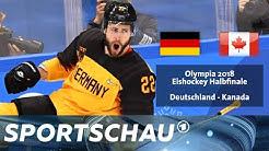 Deutschland gegen Kanada - das Wintermärchen von Pyeongchang in voller Länge | Sportschau