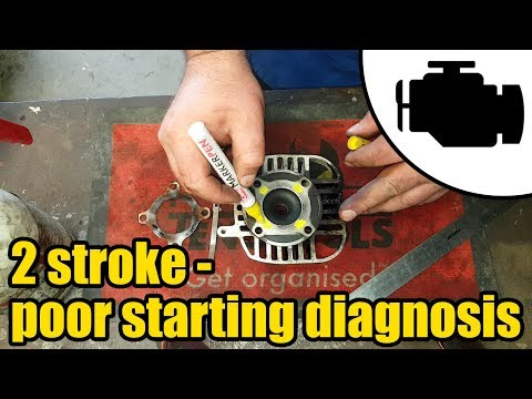 2 stroke poor starting diagnosis #1166
