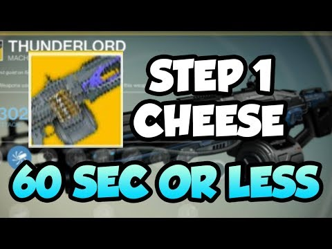 THUNDERLORD QUEST - Finish the First Step in 1 Minute or Less