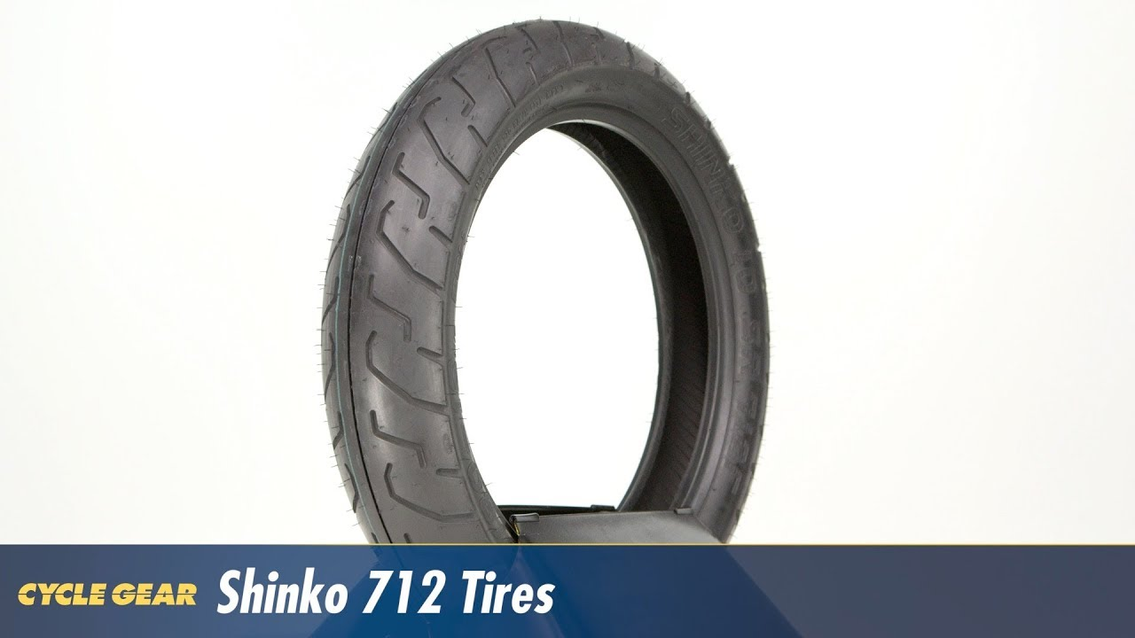 New Shinko 712 100//90-18 Front Tire 56 H Tubeless