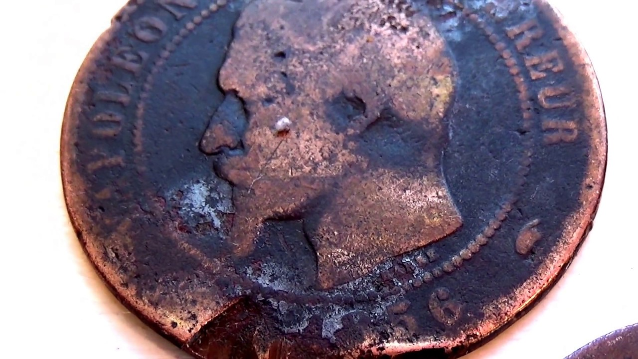 1855 and 1856 and ???? Napoleon III Coins