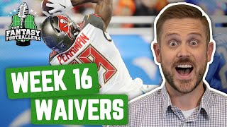 Fantasy Football 2019 - Week 16 Waivers + Full Stream Ahead, Championship Prep - Ep. #839