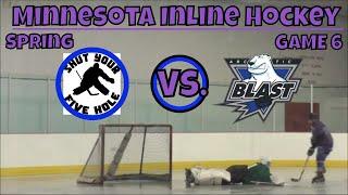 GoPro Hockey: Arctic Blast vs Shut Your 5 hole (Spring Game 6)