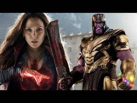 Avengers Endgame: Scarlet Witch Could Have Beat Thanos