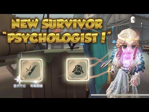 "#3 ""Psychologist"" Ada New Survivor Gameplay!   Eversleeping Town   Identity V   第五人格  제5인격"