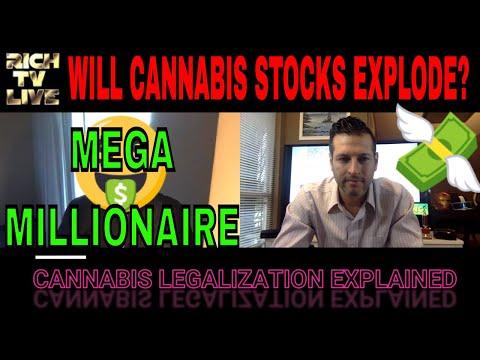 Mega Millionaire Predicts Cannabis Stocks will explode ✅🔥🚀💰
