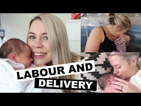 HOME WATER BIRTH | LABOUR AND DELIVERY STORY | Kate+