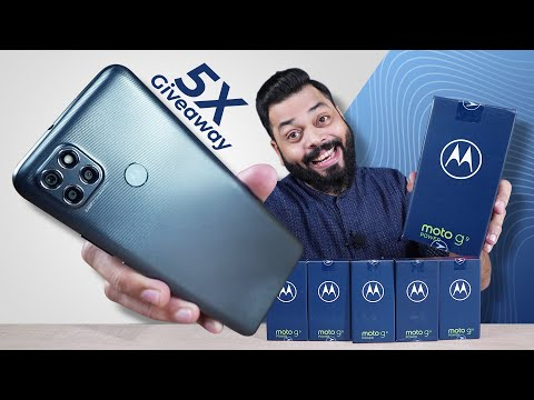 Moto G9 Power Unboxing And First Impressions| 5X Giveaway ⚡ Big On Power, Small On Price