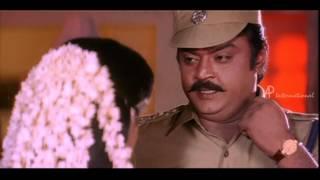 Sethupathi IPS - Vijayakanth blesses his sister