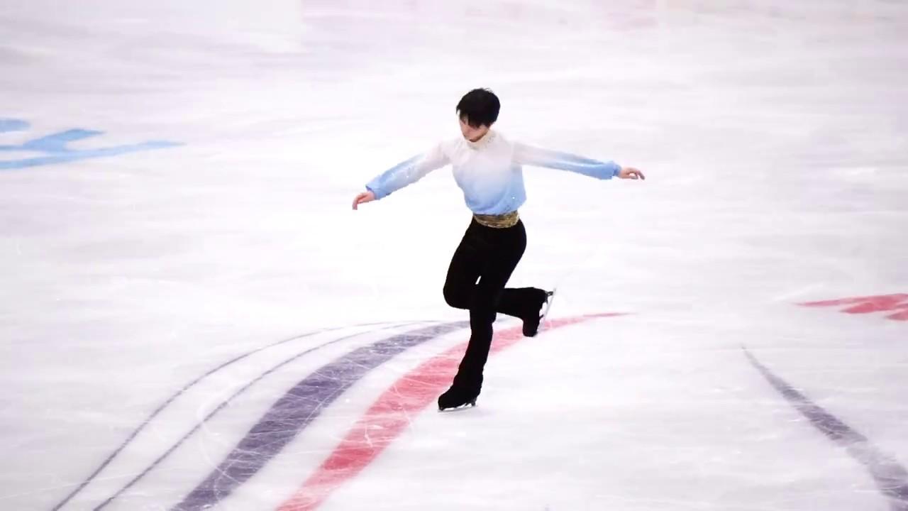 羽生結弦: 羽生 結弦. Yuzuru Hanyu. ISU Grand Prix Moscow 2017