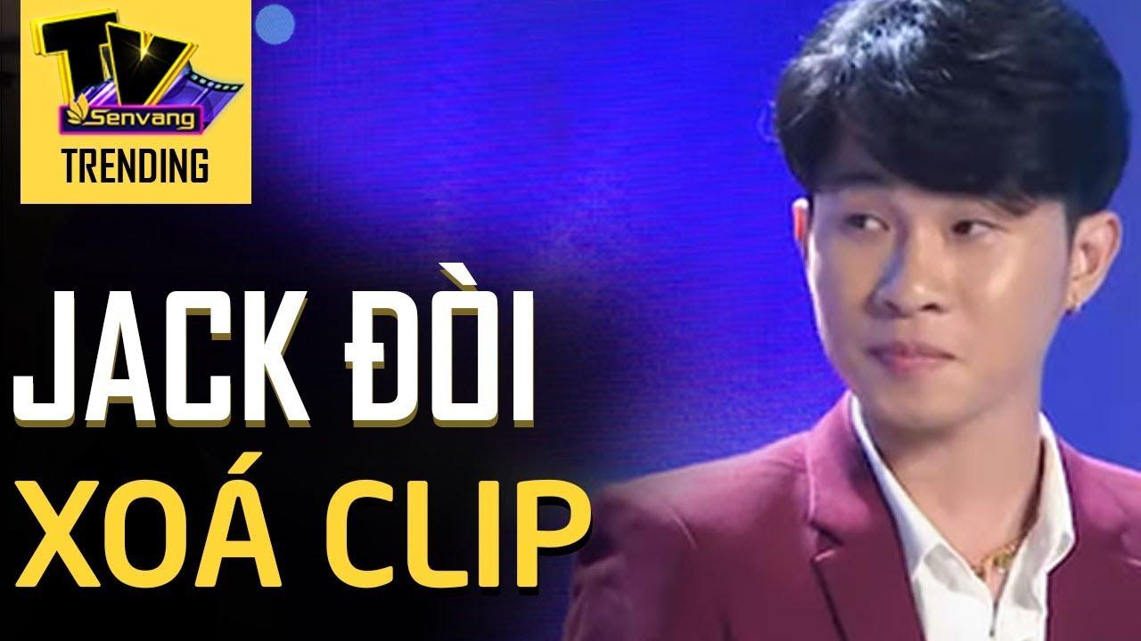 BTC Người bí ẩn tố Jack đòi xóa clip cắt tiết mục của chương trình?