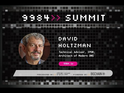 David Holtzman, IPDB | Building the Future from our Heads, Not our Hands