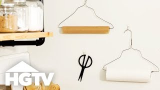 9 Wire Hangers Hacks - HGTV