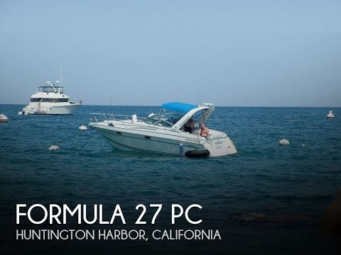 [SOLD] Used 1996 Formula 27 PC in Huntington Harbor, California