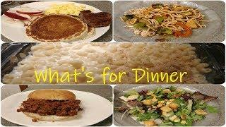 What's for Dinner! November 2018 | Dinner Ideas