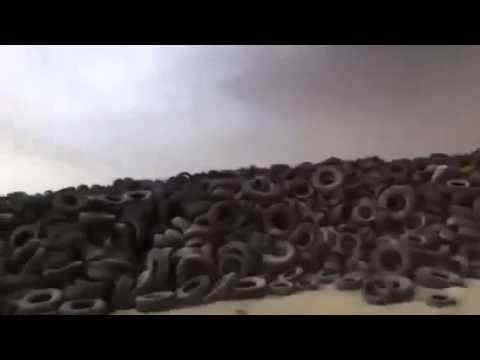 Is using used tires dangerous for health / nature
