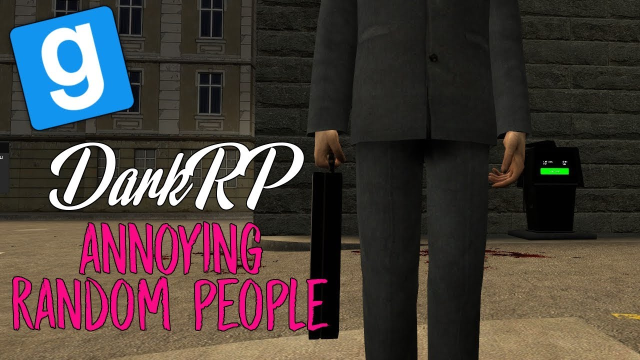 how to change a gmod server to dark rp
