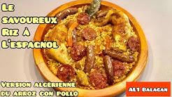Le savoureux riz à l'espagnol (arroz con pollo)