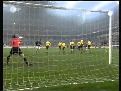 2002 April 11 AC Milan Italy 3 Borussia Dortmund Germany 1 UEFA Cup