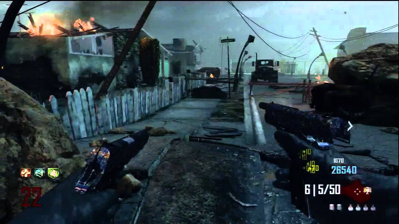 black ops 2 zombies: m1911 pack-a-punched (upgraded) - mustang