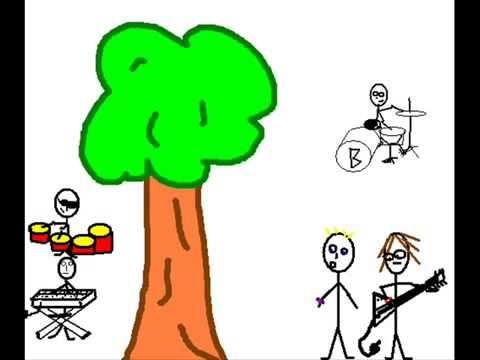 bomen zijn relaxed - Luuk en Gijs