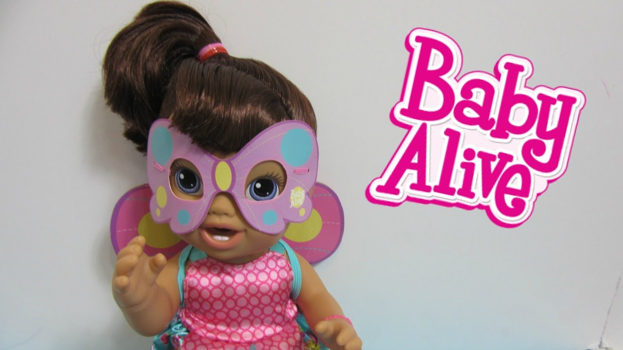 Baby Alive Butterfly Party Baby Toys R Us Exclusive