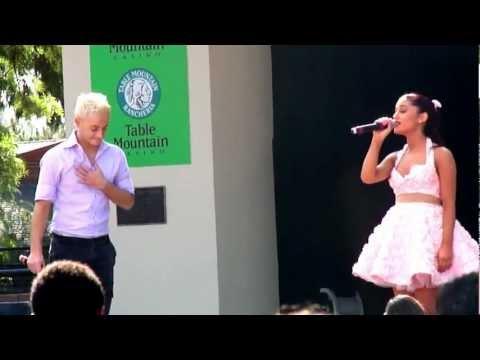 Ariana Grande & Frankie Grande Suddenly Frankie Fresno Fair 10-13-12