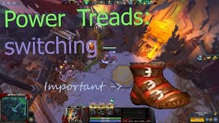Dota 2 - Power Treads switching