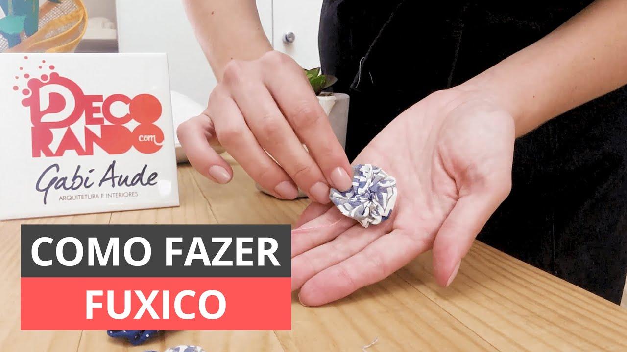 COMO FAZER FUXICO PERFEITO E SIMPLES - PASSO A PASSO