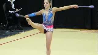 Club Rhythmic Gymnastics, Panasonic FZ150, Montreal, 4 March 2012  (2)