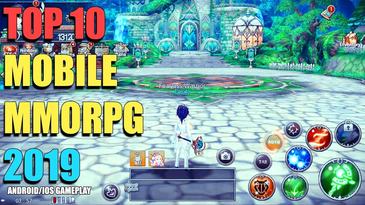 Top 10 Best Free To Play Mobile Mmorpg 2019 Android Ios