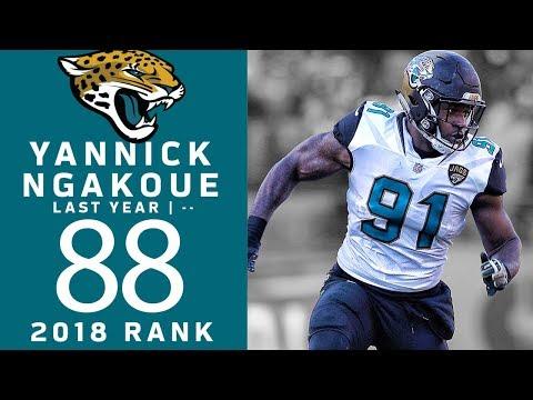 #88: Yannick Ngakoue  (DE, Jaguars) | Top 100 Players of 2018 | NFL