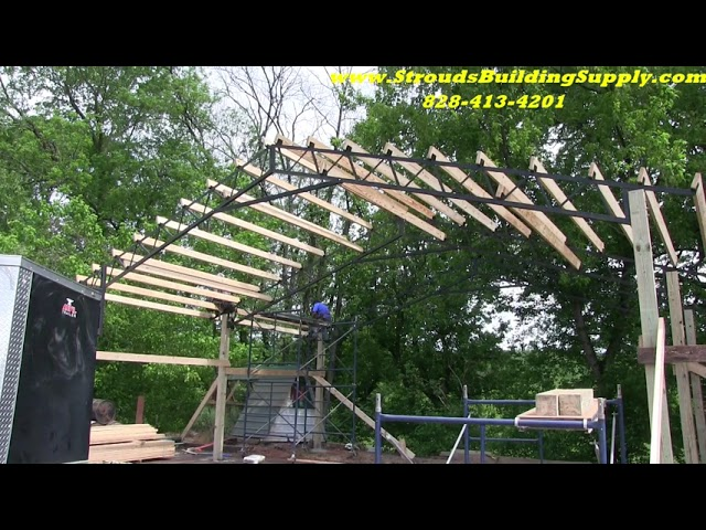 New Pole Barn Going Up