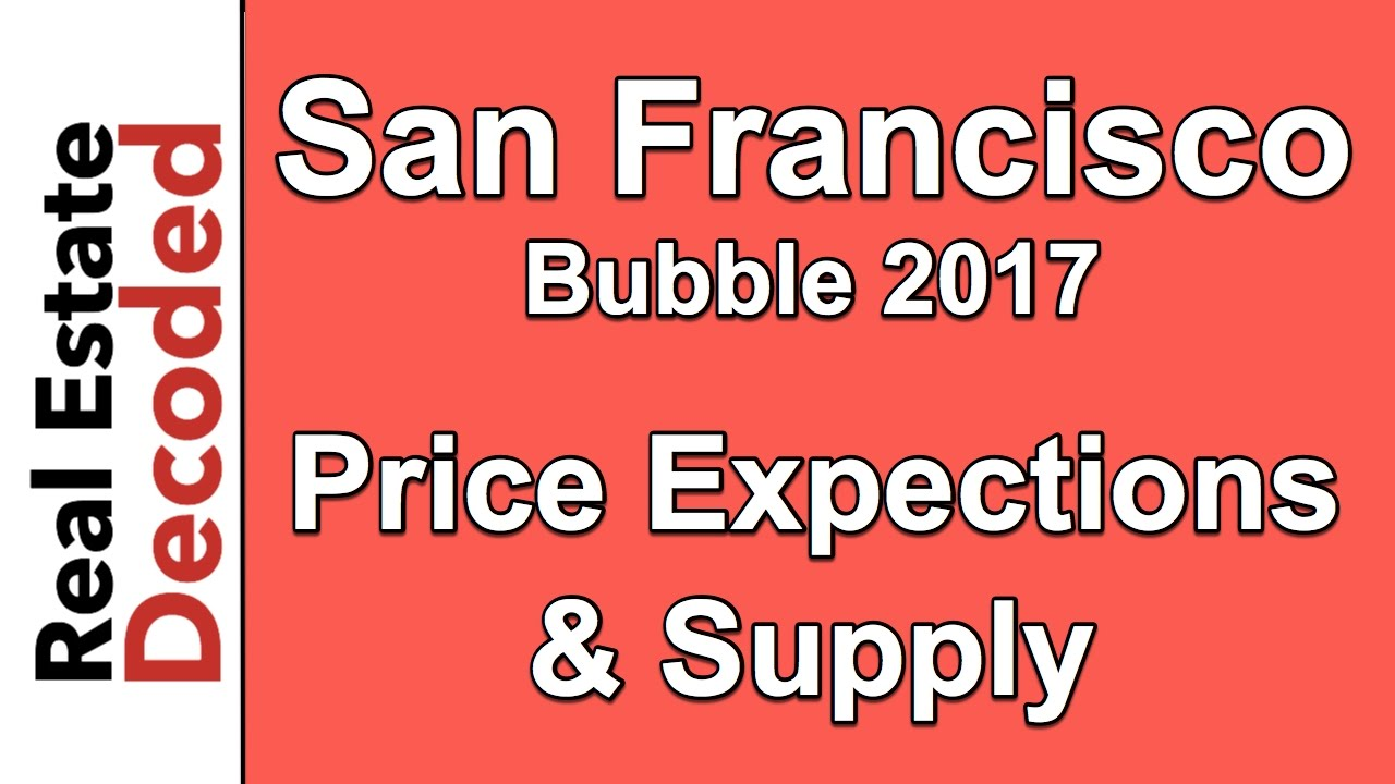 San Francisco Real Estate Bubble 2017 - Price Expectations
