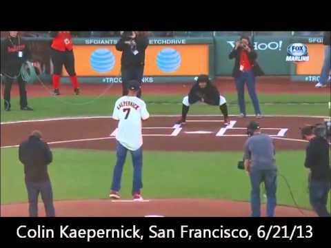 10 Best Ceremonial First Pitches