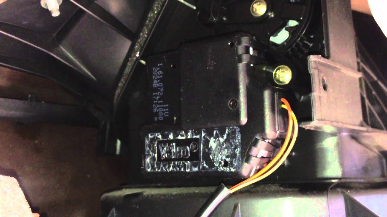 2008 Hyundai Sonata Wiring Diagram Peugeot 406 Air Recirculation Flap Youtube