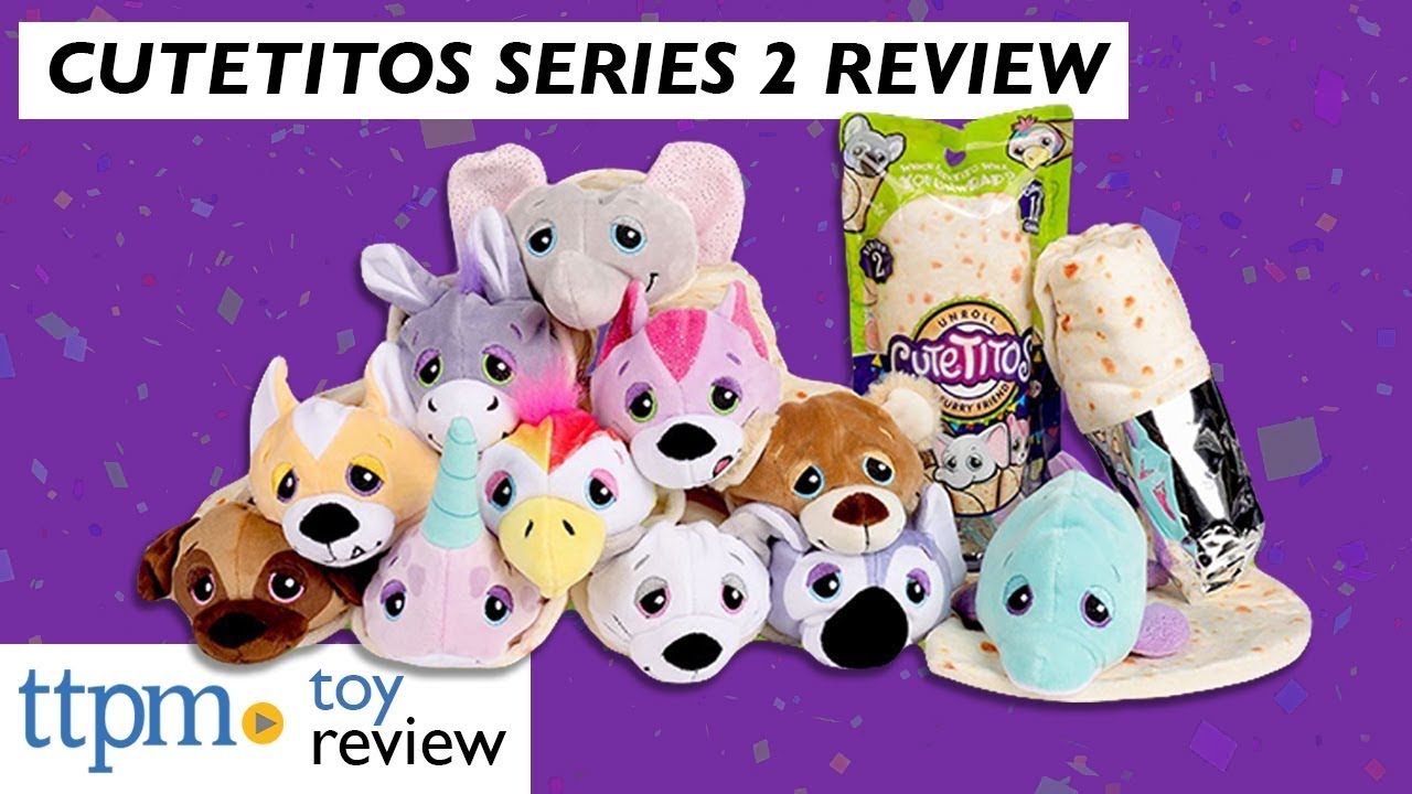 Cutetitos Series 2 From Basic Fun Youtube Let's unbox 3 and see which plush cuties. cutetitos series 2 from basic fun