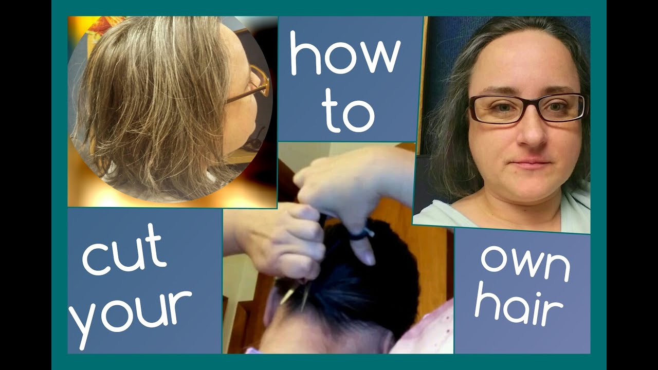 Cut Your Own Hair Ponytail Method YouTube - Diy ponytail cut layers