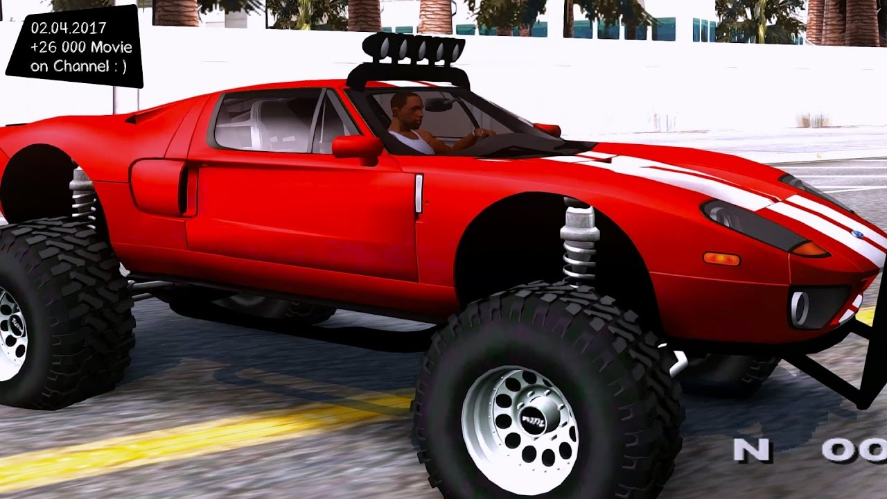 Ford Gt Off Road Gta San Andreas Tuning  F F  Afps  F F  A