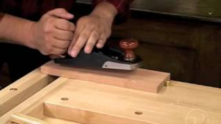 Setting Up & Using A Veritas Bevel-up Plane
