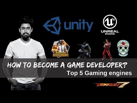 How To Develop Games Like Pubg, Counter Strike, Dota? | Top 5 Gaming Engines(Hindi)