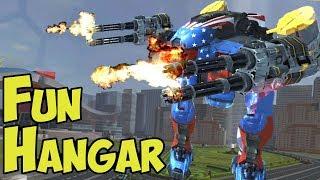 War Robots Mega Fun Hangar Performs Well?!?