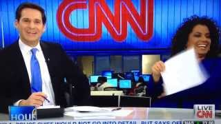CNN Hosts Lose Control of Don King - 2/26/2014