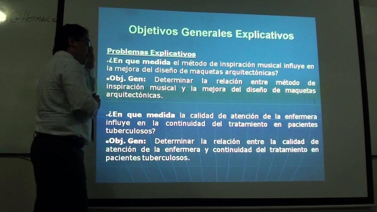 Objetivo general y especificos youtube for Objetivo general de un vivero