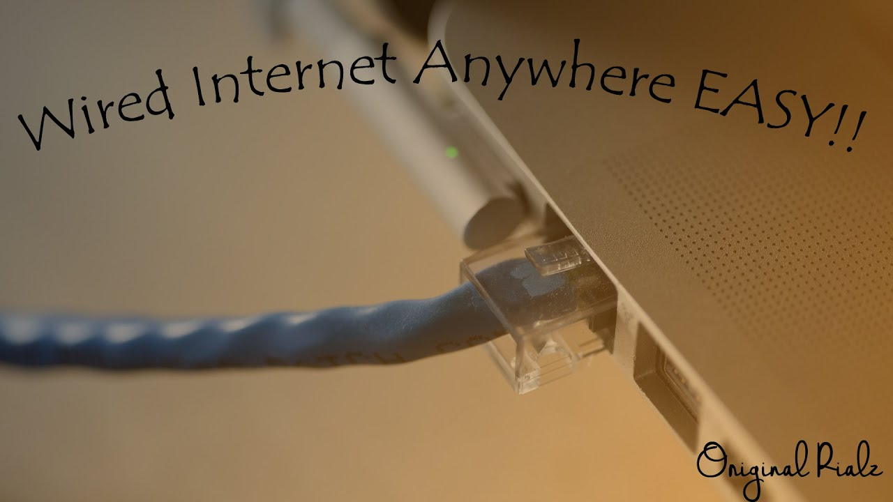 small resolution of easiest way to get wired internet anywhere in your house
